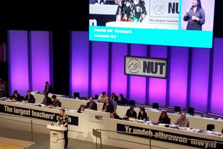 "NUT conference: ""This country must have a Government that will invest in education"""