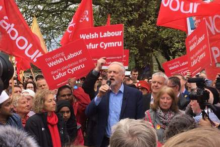 Cardiff Corbyn rally shows how to develop confidence during the election campaign