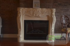 Installation--Electric Fire Place & Mantle