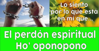 El perdón es espiritual personal