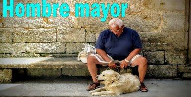 Lo que ve un hombre mayor