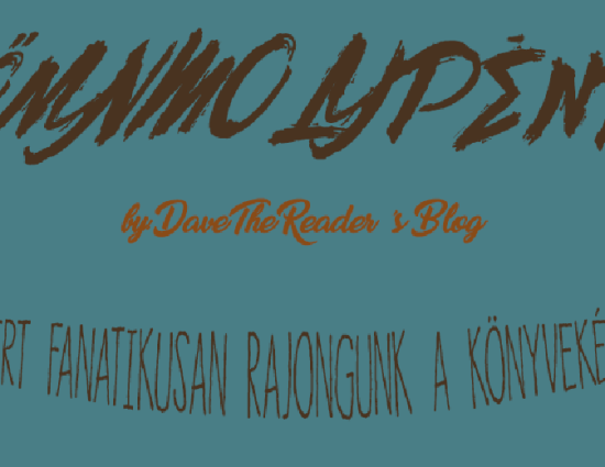 Könyvmolypéntek by Dave The Reader's Blog