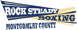 Rock Steady Boxing Montgomery County Logo