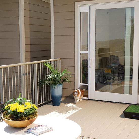 sliding glass pet door by petsafe grp