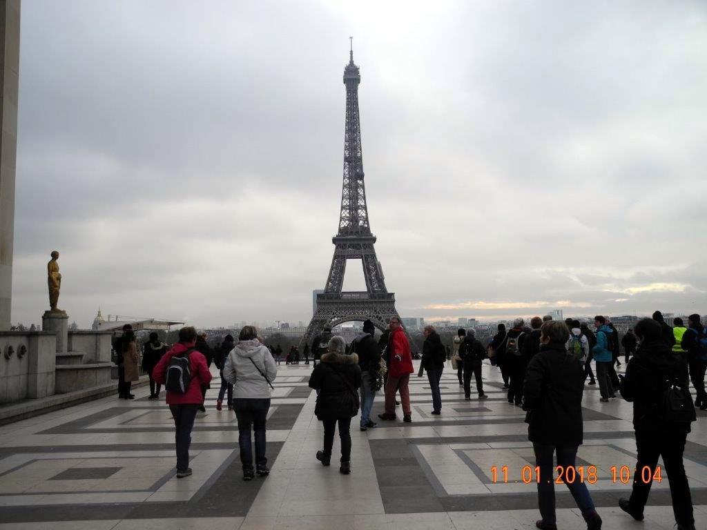 Randonnée à Paris
