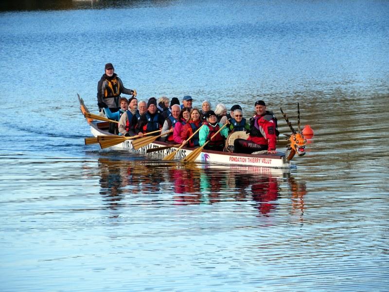 Sortie Dragon boat du 9 novembre