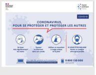 Coronavirus Reconfinement : pour se protéger et protéger les autres – Attestation de déplacement dérogatoire
