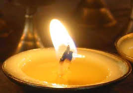 photo of a candle