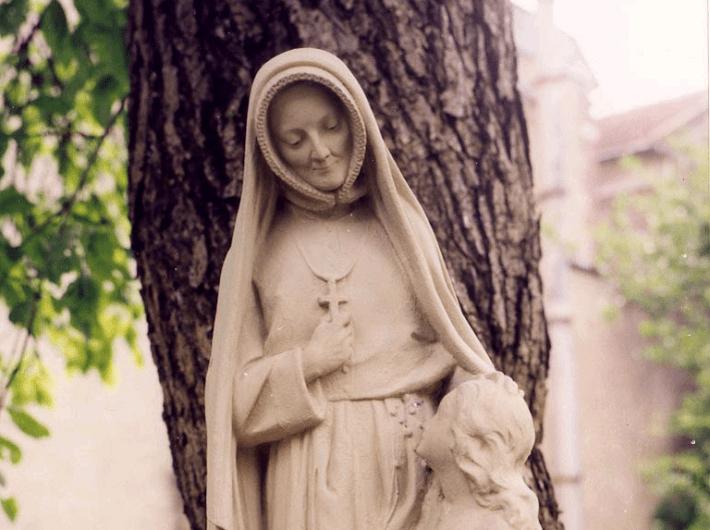 Statue of St Madeleine Sophie Barat