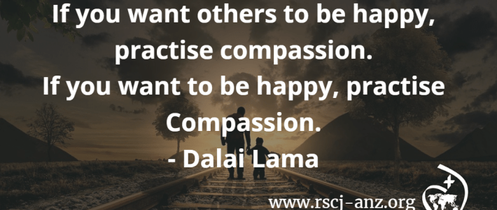 Practise compassion