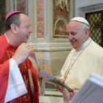 Papa Francisco com dom Roque Paloschi