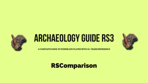 Archaeology guide rs3