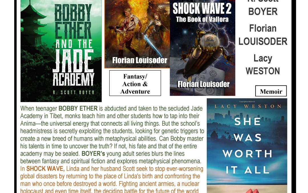 Flintridge Bookstore – Oct. 27th, 5pm