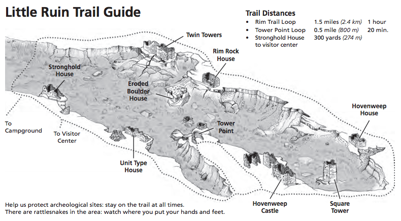 hovenweep trail guide