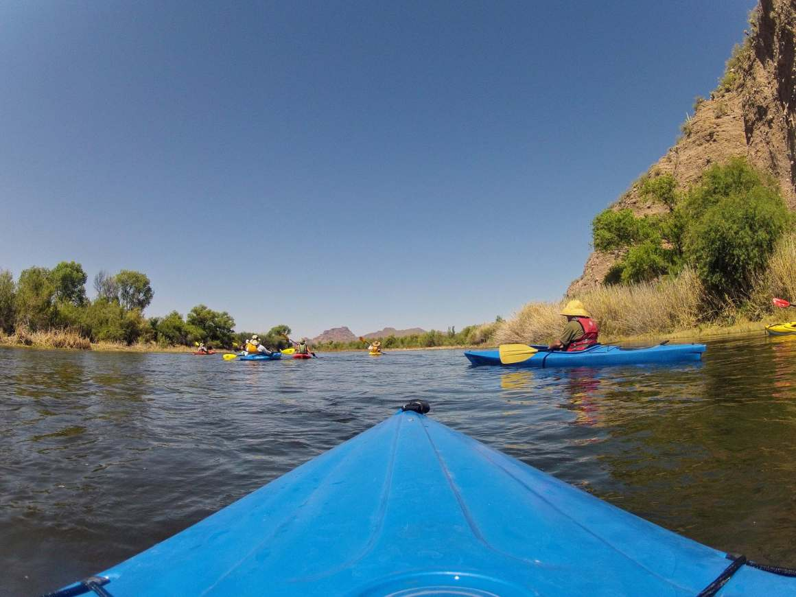 salt river kayaking