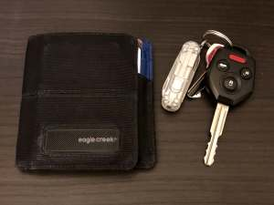 Wallet and keychain