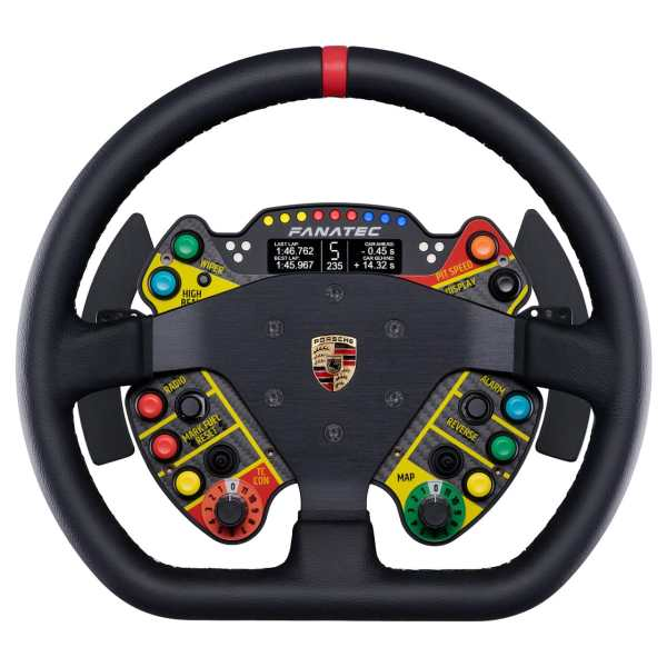 Podium Steering Wheel fanatec Porsche 911 GT3 R Leather
