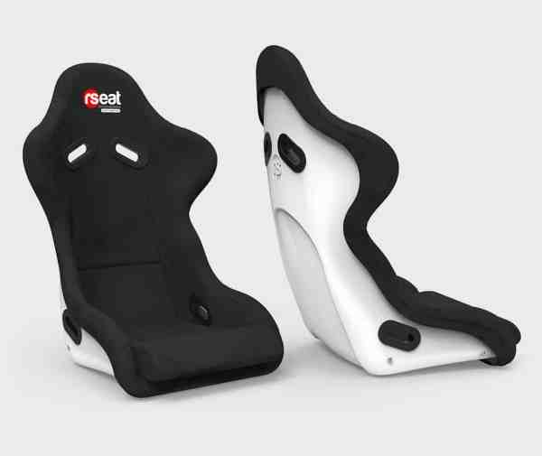 rseat n1 alcantara white seat