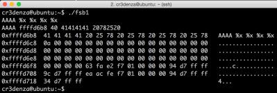 포맷스트링 (format string) 버그 활용 정리 – 03. 11. 17