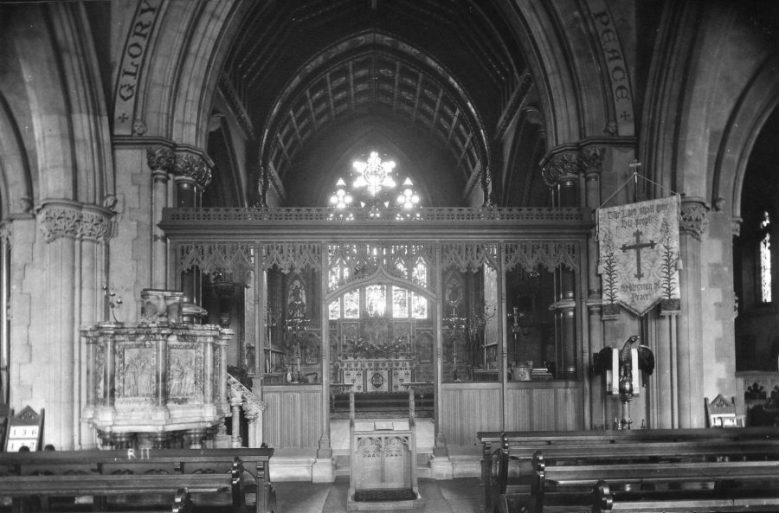 All Saints Church interior