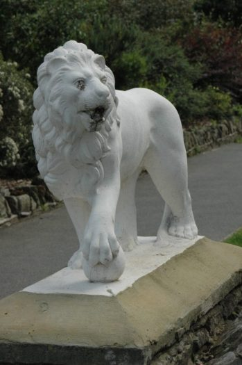Ashley Gardens lion July 2007