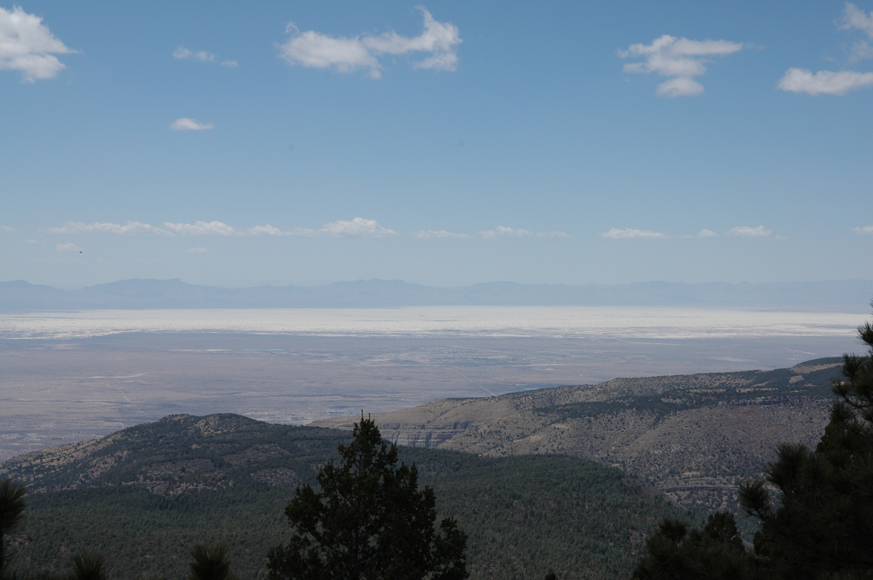 Tularosa Basin, New Mexico, from Apache Point Observatory