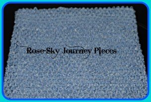 The start of a fairytale princess character costume. This will form part of the top base to the final outfit. Image copyright of Rose-Sky Journey Pieces, 2016.