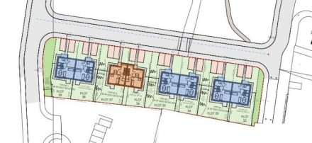 Cut out of site layout for R S McLeod Limited's Dulich Court Phase 1