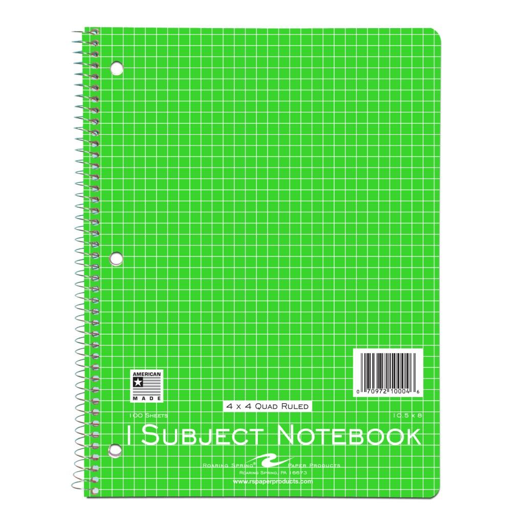 Wb Notebook 1sub 10 5 X8 4x4 Quad