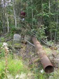 Abandoned Haines Pipeline, Alaska