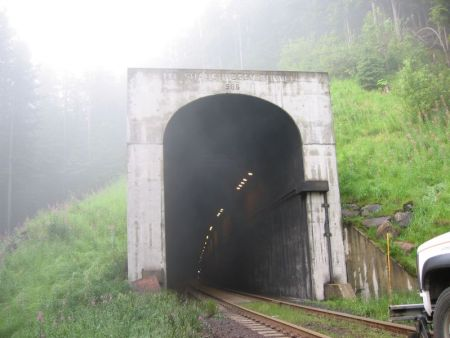 Mt. Shaughnessy Tunnel Rogers Pass, British Columbia, Canada