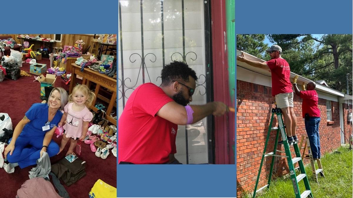 Alabama Power Service Organization volunteers focused on helping others