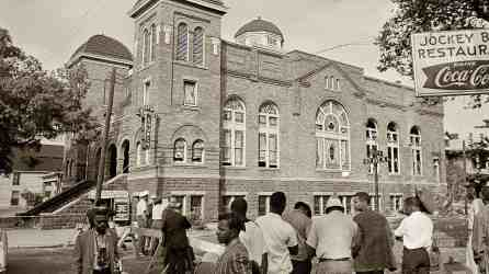 Sixteenth Street Baptist Church in Birmingham, where a bomb killed four girls in September 1963. (contributed)