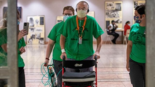 UAB Hospital's longest-tenured COVID-19 patient goes home