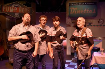 """""""Pump Boys and Dinettes"""" at Terrific New Theatre. (contributed)"""