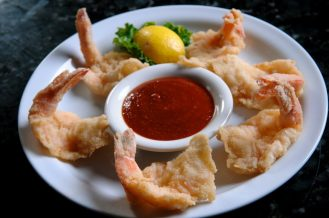 Fried Shrimp at The Bright Star. (The Bright Star / Facebook)