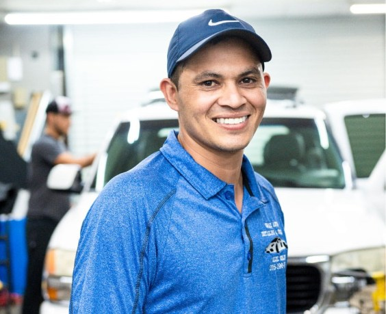 ¡HICA! helped Esteban A. Solis-Alvarez start and build his car detailing and window tinting company, Exclusive Auto Film Solutions. The business has grown 40% since he started it three years ago. (Alabama Power Foundation)