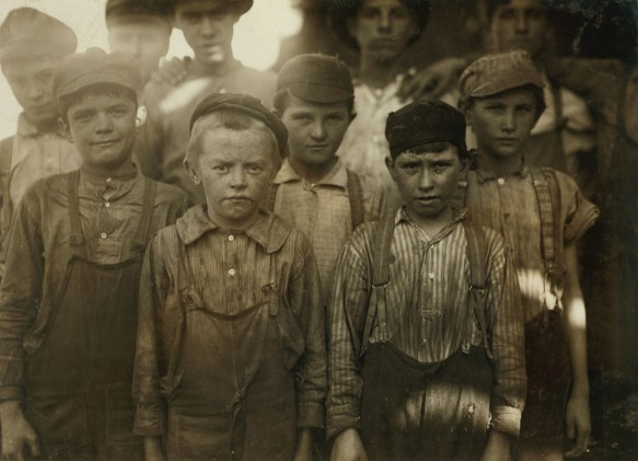 Child laborers at Birmingham's Avondale Mills. The Historic Red Ore Express walking tour isn't just about historic sites. It's about the people who worked or spent time there. Oral history is blended into the narration. (contributed)