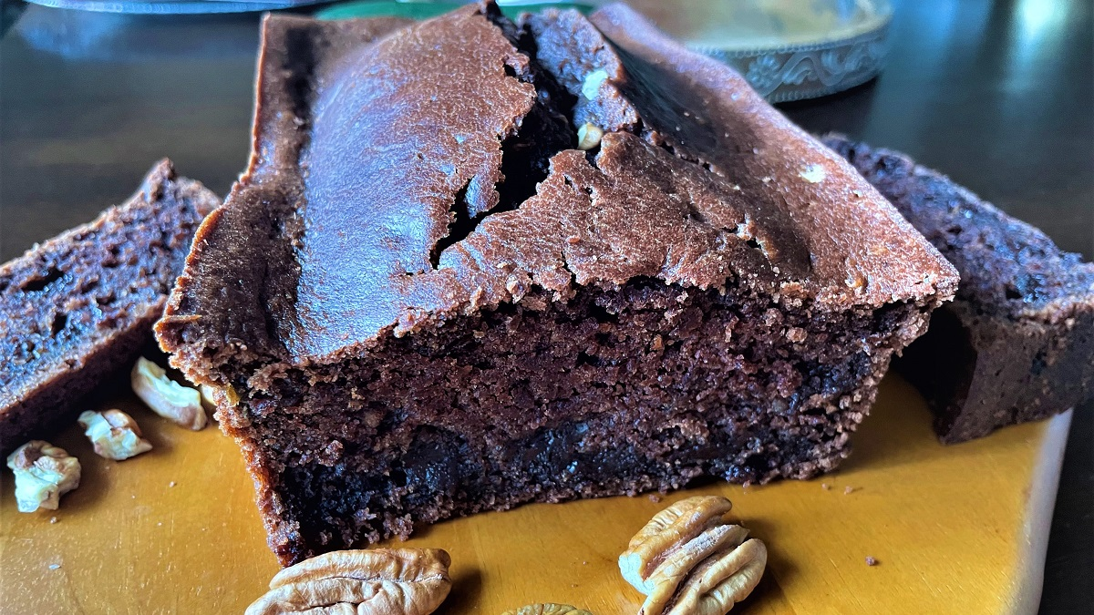 Luscious for Labor Day: Double Chocolate Zucchini Bread