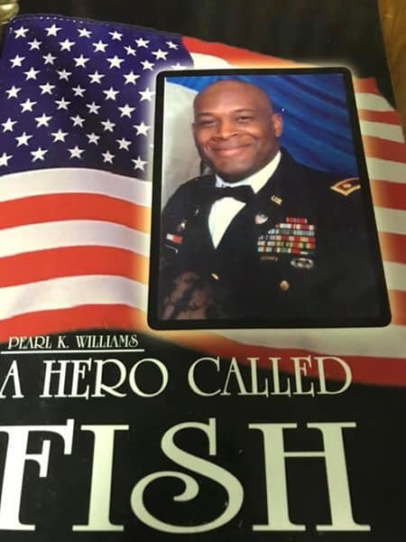 """Pearl Williams' book about her son Dwayne, """"A Hero Called Fish."""" (contributed)"""