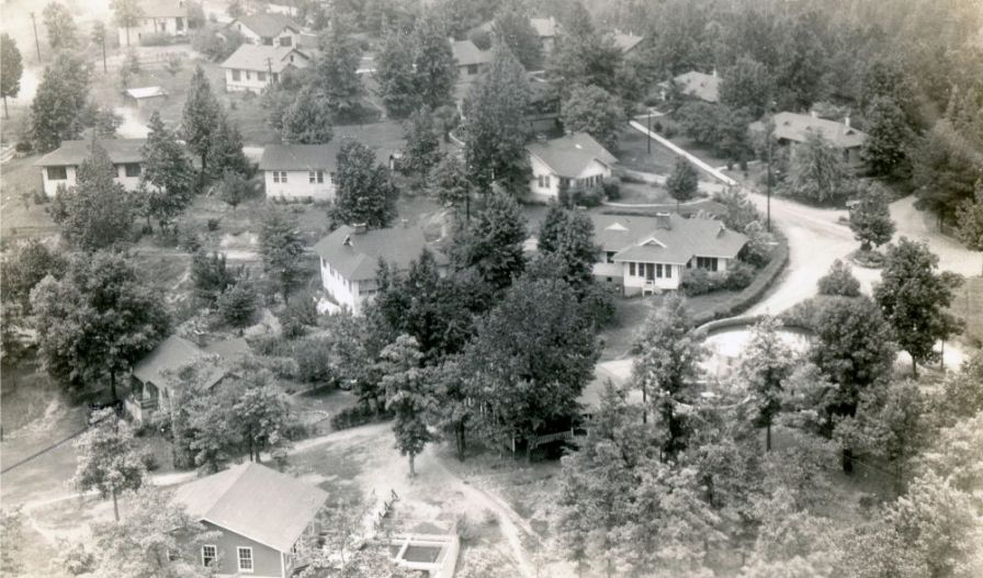 The Gorgas Village housed workers and their families. (Alabama Power)