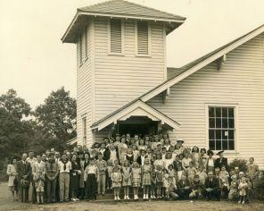 The close-knit Gorgas community. (Alabama Power)