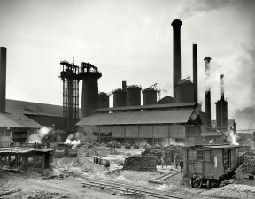 Sloss Furnaces in the early 1900s. (contributed)