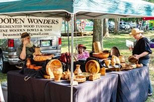Woodworking artists from throughout the Southeast will sell their original artworks during the festival. (Fotowerks Custom Photography)
