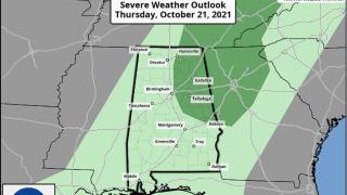 James Spann: Showers return to Alabama late tonight, Thursday