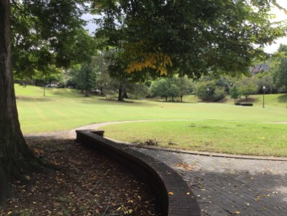"""Many of the parks created or enhanced as part of Mayor George Ward's """"Birmingham Beautiful"""" campaign are still in use today, including Caldwell Park. (City of Birmingham Park and Recreation)"""