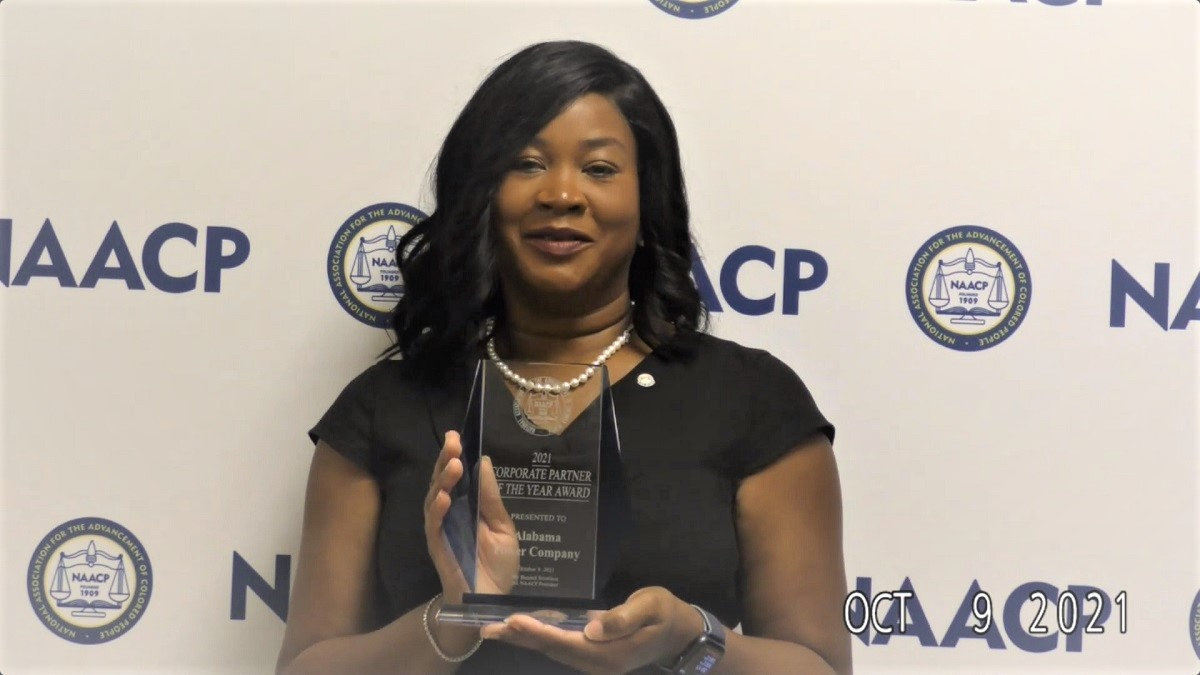 State NAACP names Alabama Power Corporate Partner of the Year