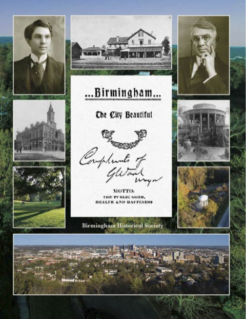 """A new book from the Birmingham Historical Society tells the story of Mayor George Ward and his """"Birmingham Beautiful"""" campaign that left a lasting mark on the Magic City. (contributed)"""