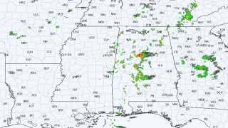James Spann: Occasional showers, storms for Alabama today; dry air returns Friday