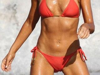 Danise Richards delicious bikini camel toe
